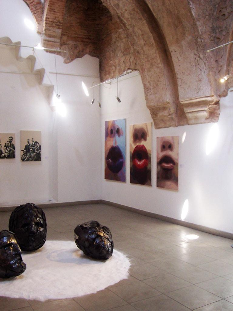 La Artista Plástica Inma Peña expone Bésame en la XIV Bienal de Jóvenes Creadores de Europa y el Mediterráneo