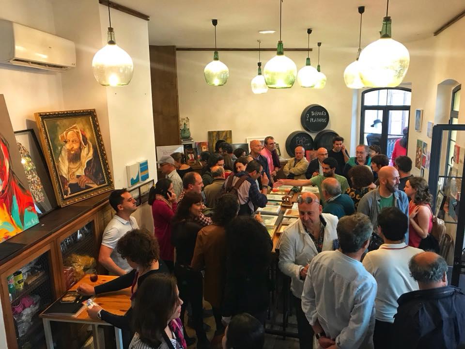 Exposición Solidaria en Tabanco Plateros