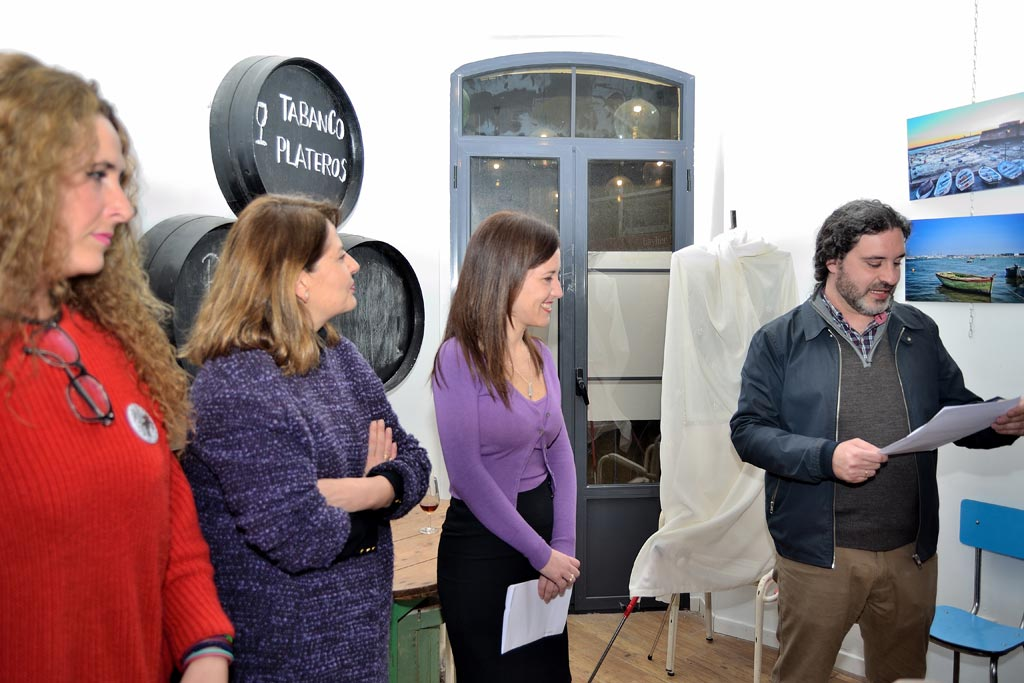 La Artista Plástica Inma Peña presenta el Cartel de la Semana Santa de Jerez 2018 editado por La Sacristía del Caminante