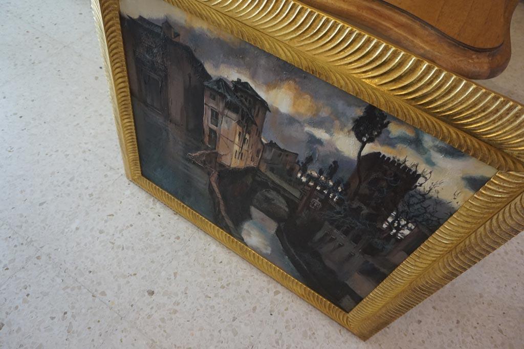 Versión de Recuerdos Granada realizada en acrílico por la artista plástica Inma Peña en 2004