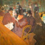 En el Molino Rojo, Toulouse-Lautrec