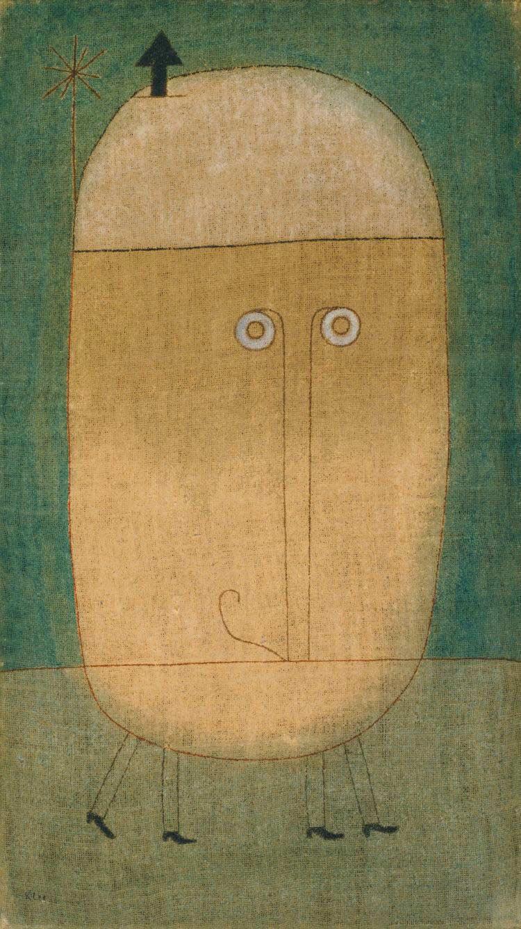 Máscara del miedo, Klee