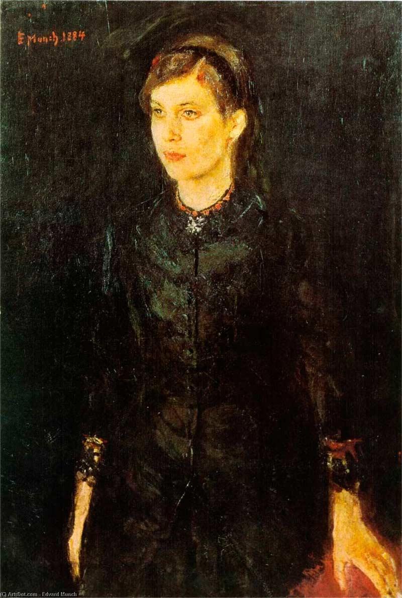 Retrato de Inger, Munch