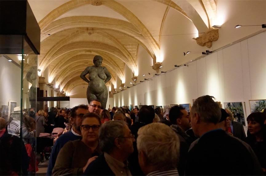 Inauguración de la XXVIII Edición de la Muestra pictórica y escultórica Jerez, Paleta de Colores