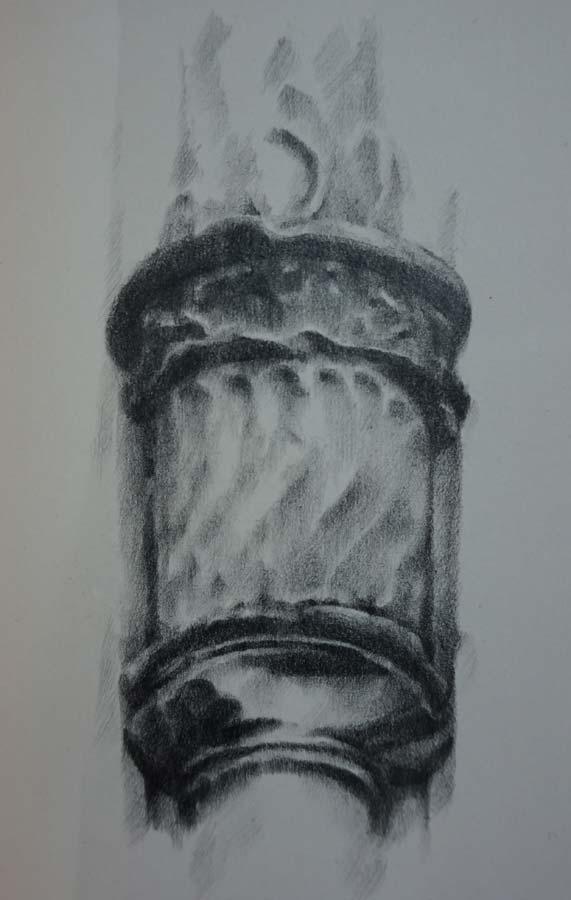 Columna abalaustrada. Estudio ornamental de la Casa-Palacio Ponce de León de Jerez