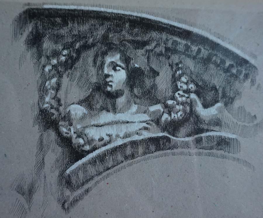 Tondo. Estudio ornamental de la Casa-Palacio Ponce de León de Jerez