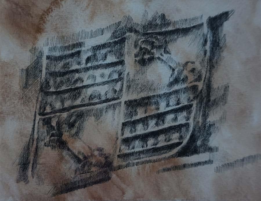 Blasón Villavicencio-Zurita. Estudio ornamental de la Casa-Palacio Ponce de León de Jerez