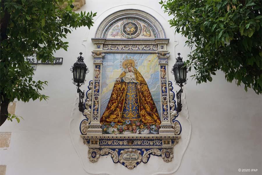 Retablo cerámico del Mayor Dolor, Jerez.