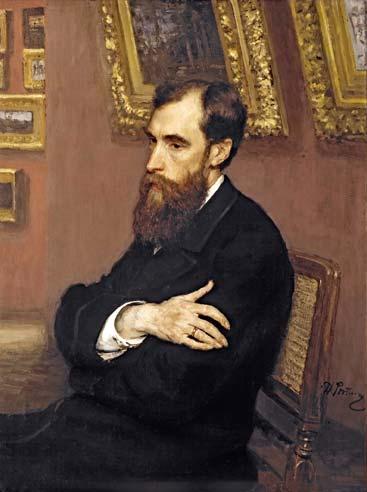 Retrato de Pavel Mikhailovich Tretyakov