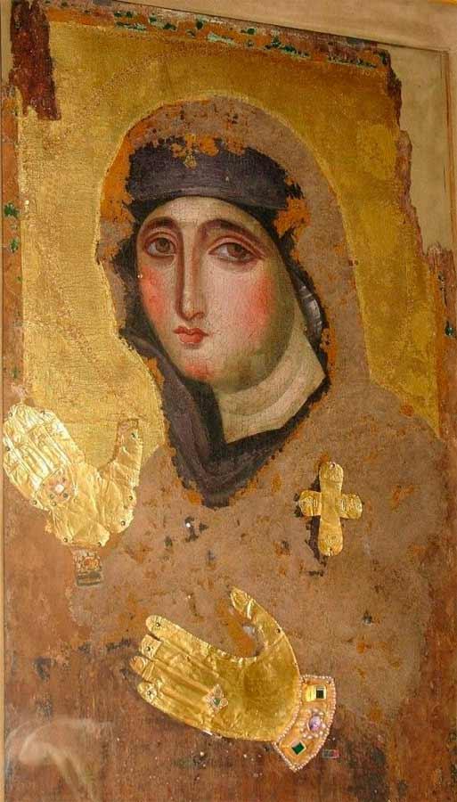 Madre de Dios Hagiosortissa, Iglesia de Santa María del Rosario. Monte Mario, Roma