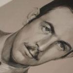 Retrato de Felipe Morenés y Giles por la artista plástica Inma Peña