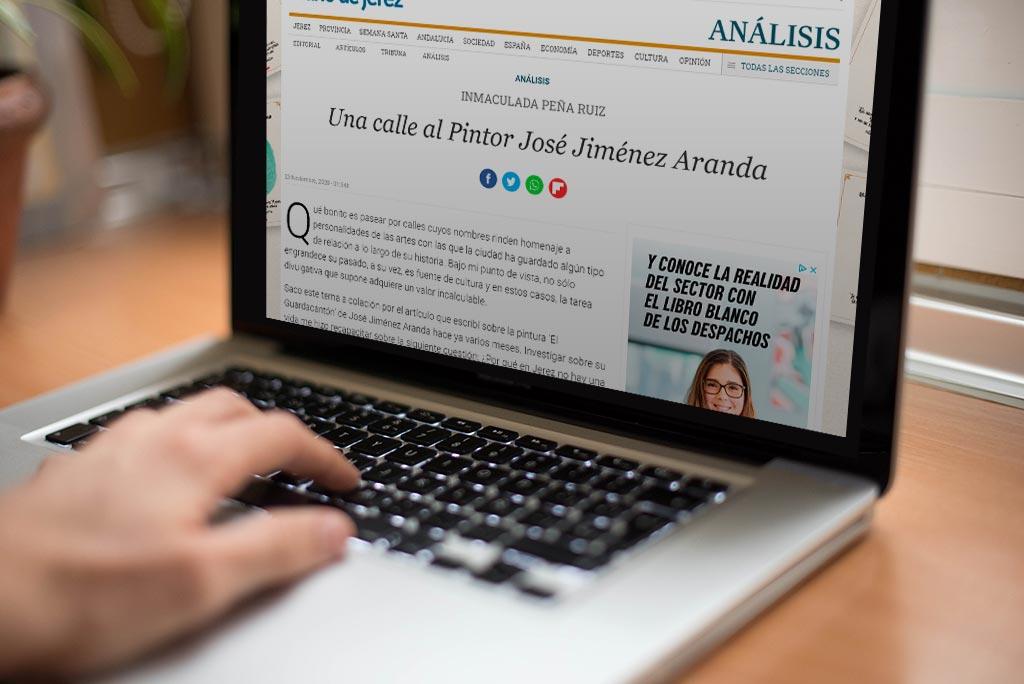"""Estrenando Columna """"La Sacristía del Arte"""" en Diario de Jerez"""
