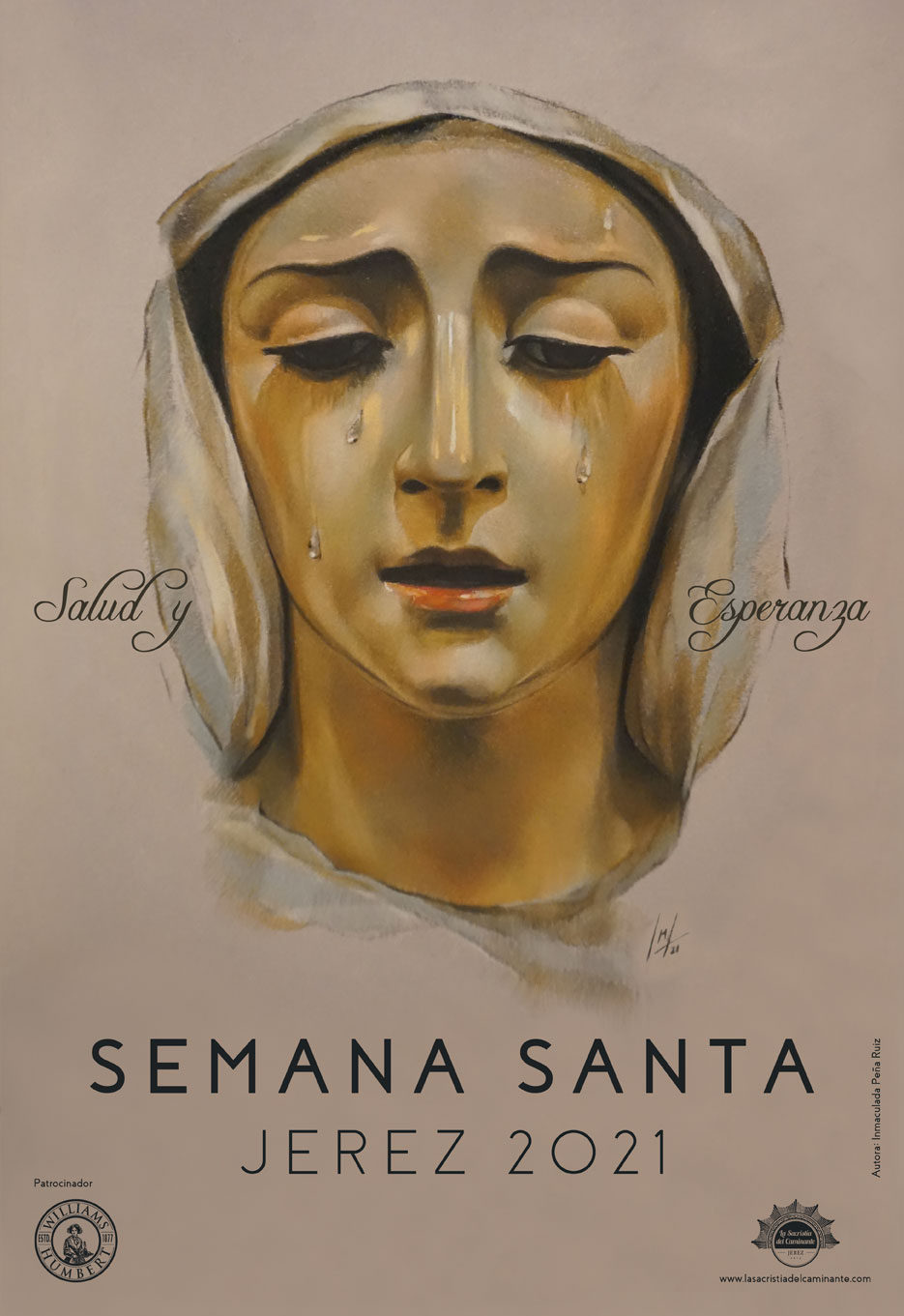 Cartel de la Semana Santa de Jerez 2021 de La Sacristía del Caminante
