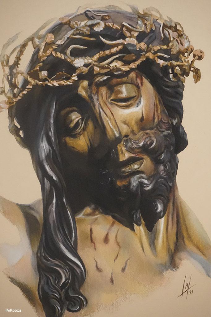 Retrato del Santísimo Cristo de la Vera Cruz de la Hermandad de la Vera+Cruz de Arcos de la Frontera