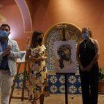 La Artista Jerezana Inmaculada Peña presenta el Cartel para la salida extraordinaria del Santísimo Cristo de la Vera Cruz de Arcos